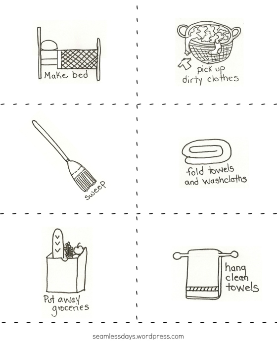 handsketched chore cards 1