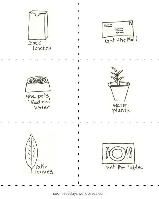 handsketched chore cards 2