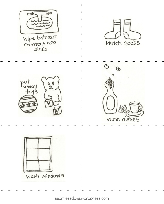 handsketched chore cards 3