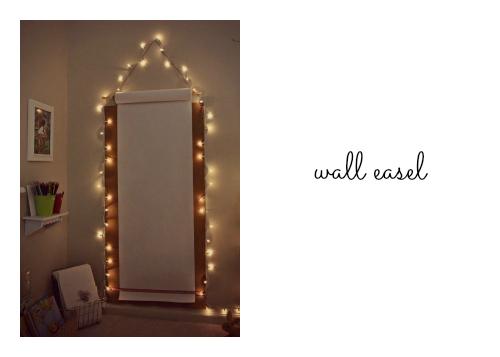 wall easel