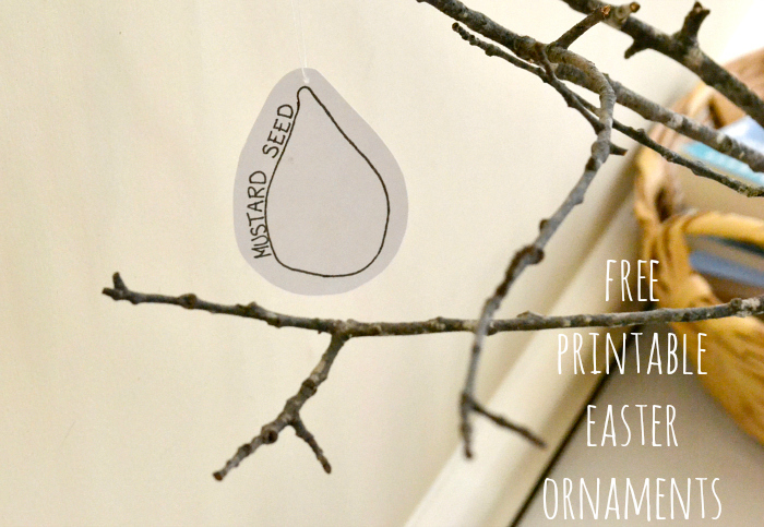 free printable lent tree ornaments